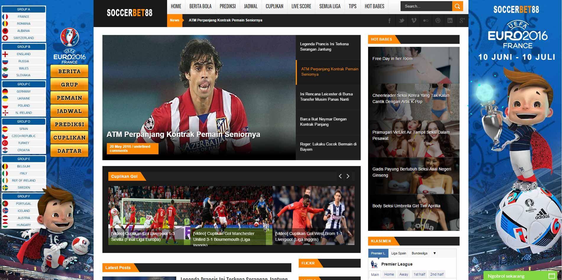 Soccerbet Com Menyediakan Berita Bola Hari Ini Prediksi Liga