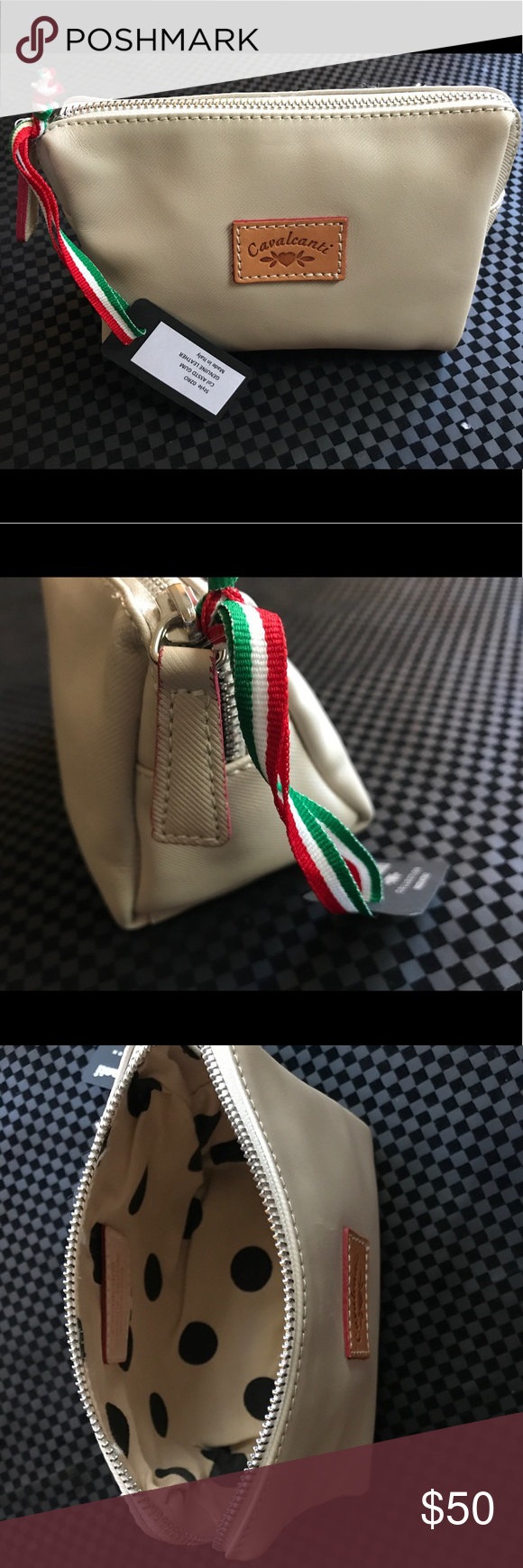 Leather Cavalcanti Cosmetic Bag Purse Pouch Handbags Are Well Known For Their