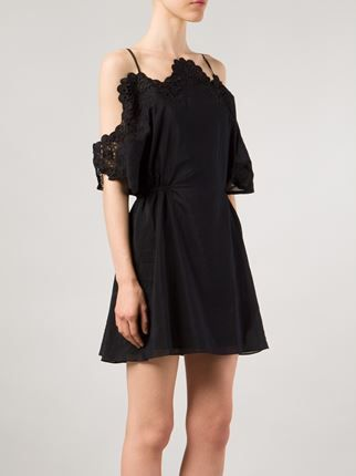 Thakoon Addition Lace Detail Camisole LBD.