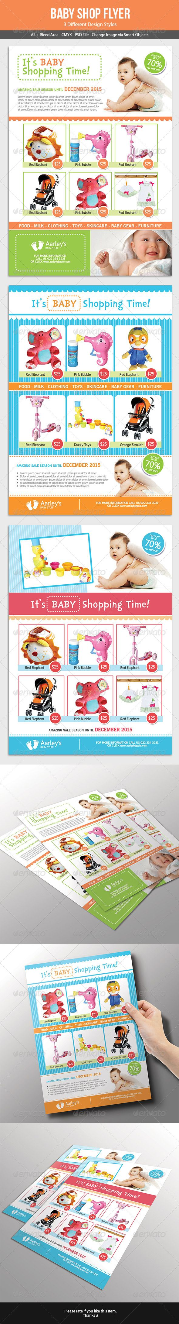 baby shop flyer flyer template babies and advertising flyers
