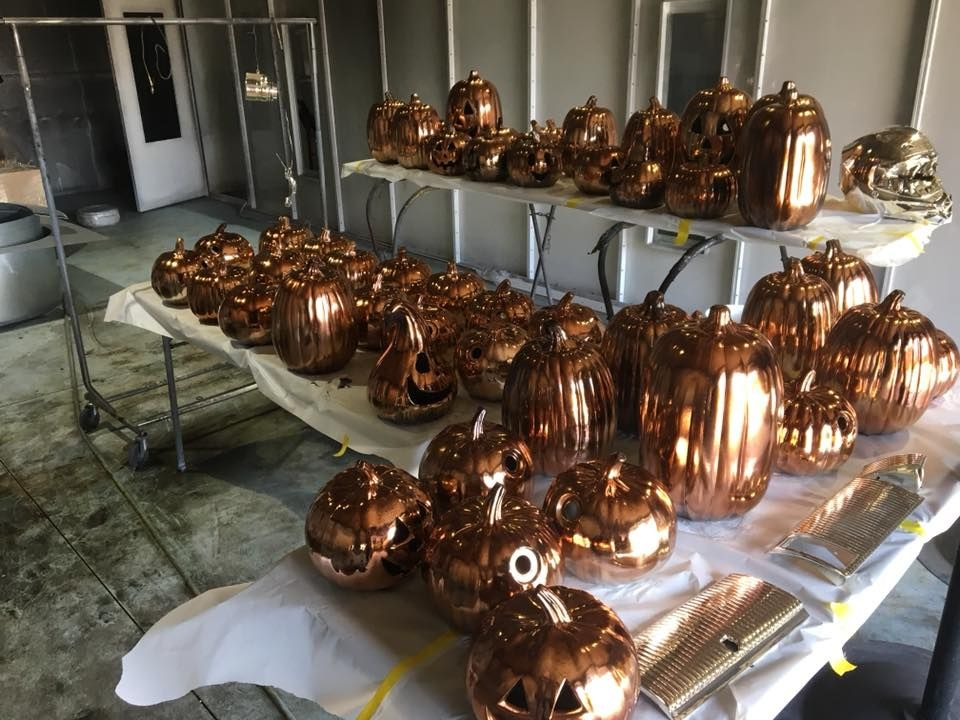 Copper Chrome halloween decorations #Chrome #ElectroPlating