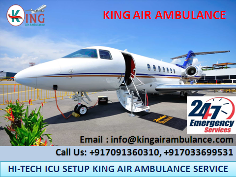 King air ambulance services are providing the best amenity