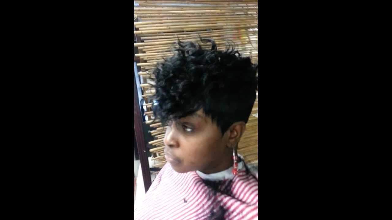 Short Cut Quick Weave Curly Top