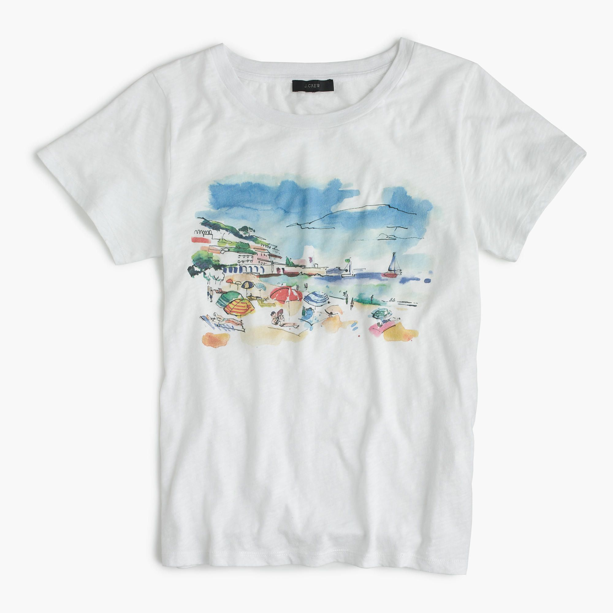 This Vintage Cotton Tee Famous For Its Heathered Texture And