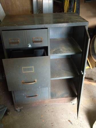 Metal Cabinet for workshop/Garage   Metal cabinet ...