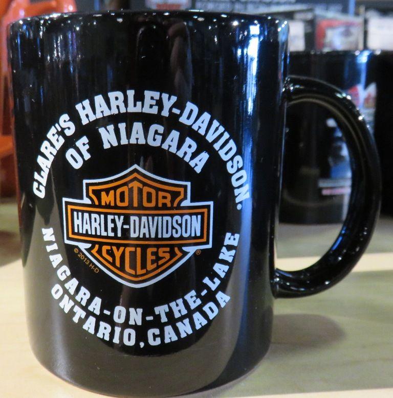 Clares harelydavidson of niagara canada mug harley