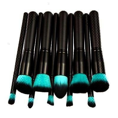 10pcs Pro Make up Brush Set Foundation Blusher Face Powder Brushes UK Sold DYou caNEW 10pcs Pro Make up Brush Set Foundation Blusher Face Powder Brushes UK Sold DYou ca S...