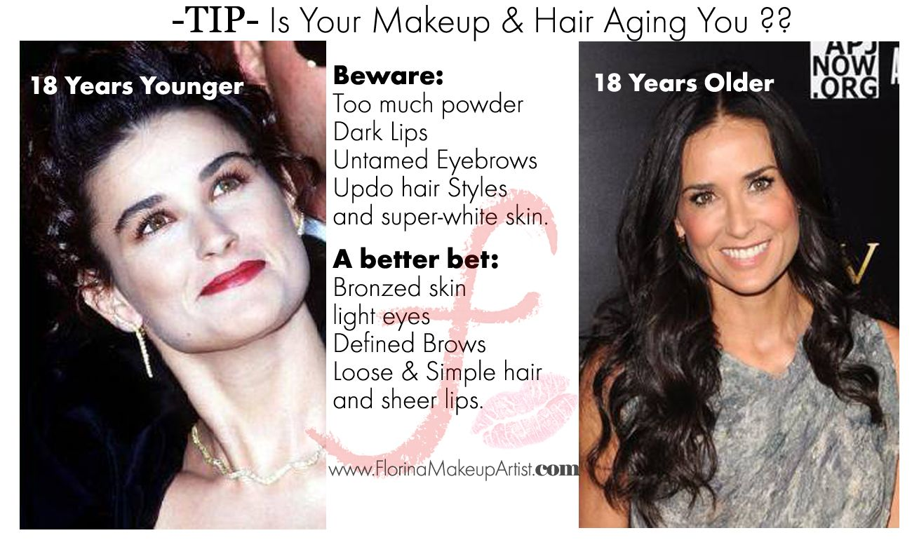 #Makeup Tips that makes you look #younger. How to avoid ...