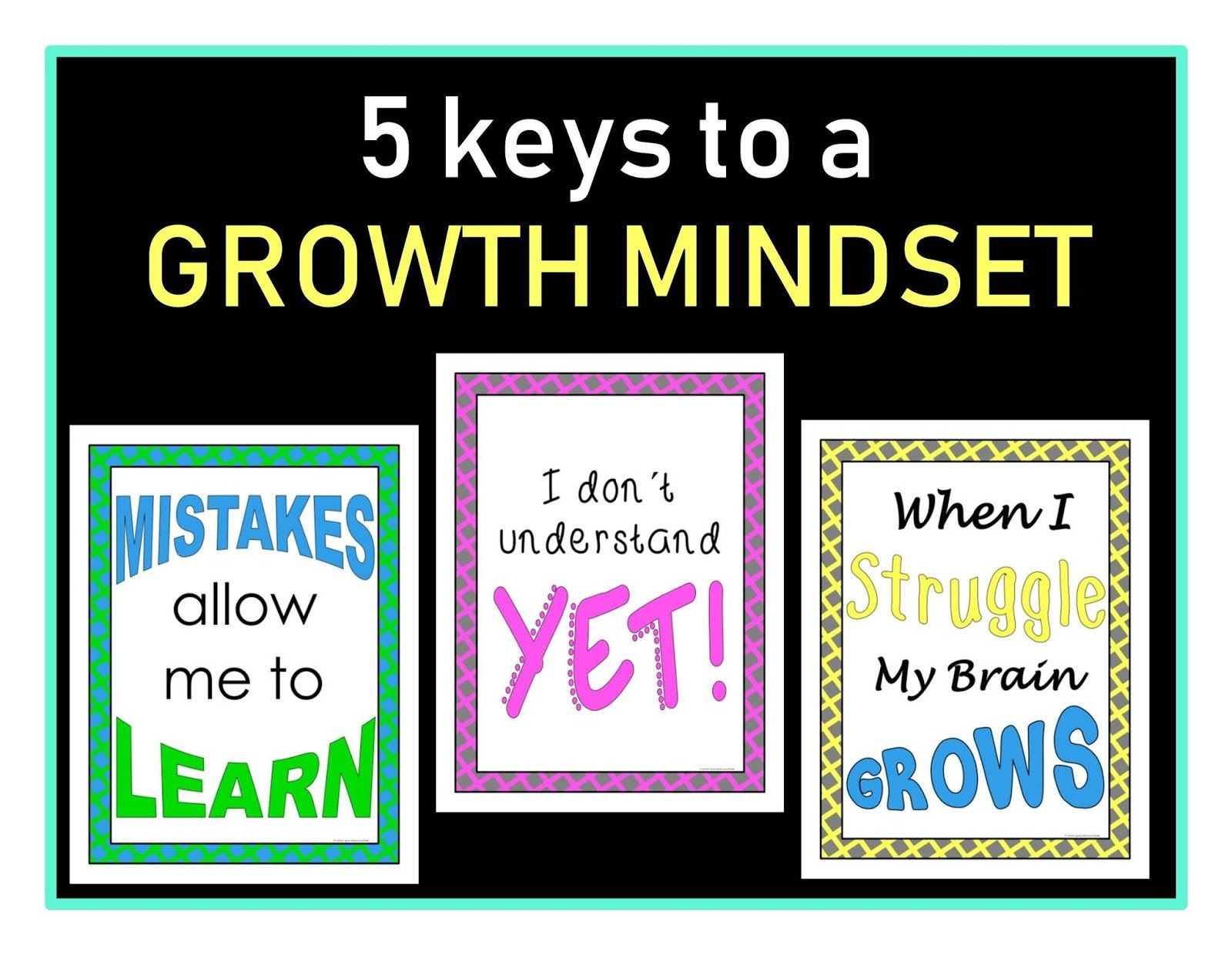 5 Keys To A Growth Mindset