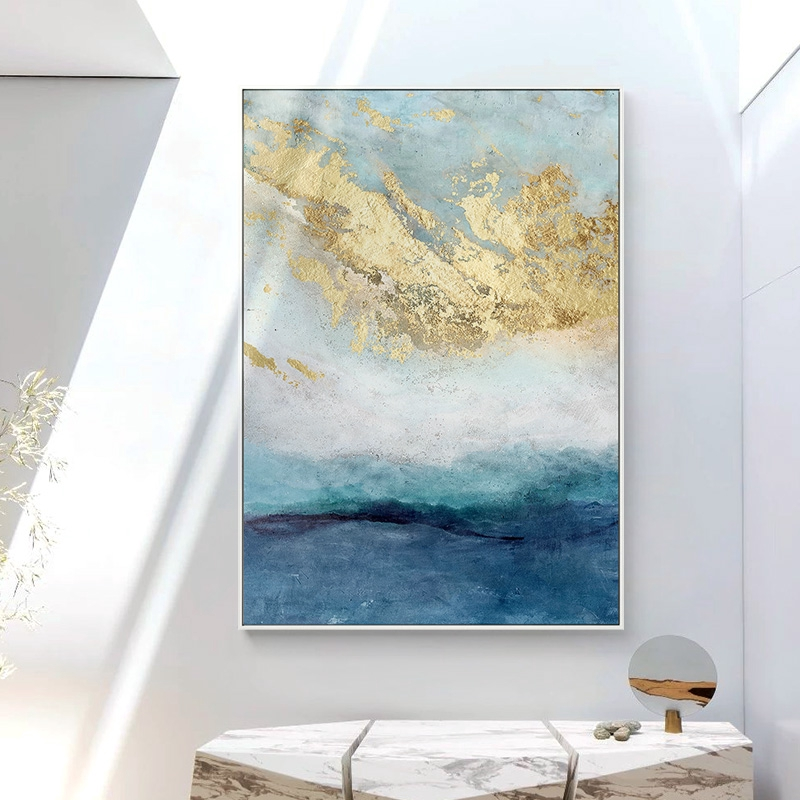 Material Canvas With Environmentally Friendly Inkstenique Spray Printingframe No Frame Fabric Cloth Only Custom Painting Accept Any Customized Pictur House