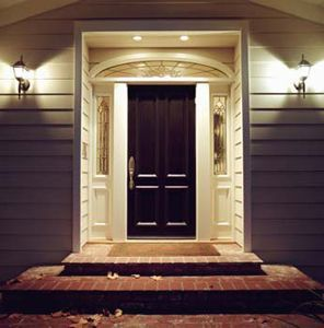 What An Awesome Idea Front Entry Recessed Lighting Over Door Howtobuildahouseblog E