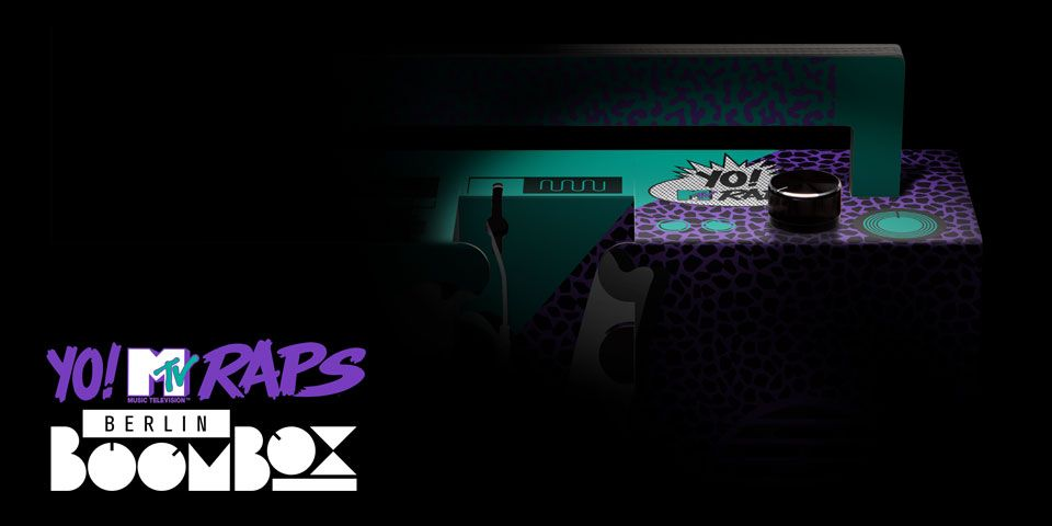 Coming Soon - official Yo! MTV Raps Boombox