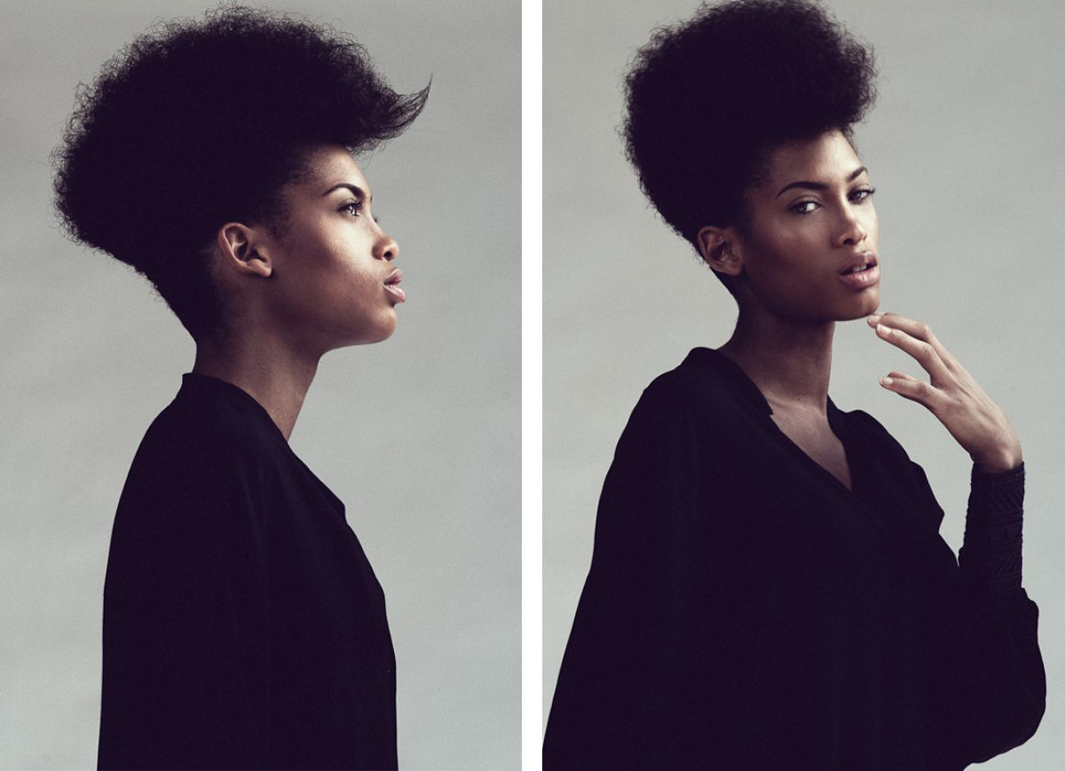 Black Women's Natural Hair Inspired Photographer Glenford Nunez To Shoot 'The Coiffure Project' (PHOTOS)