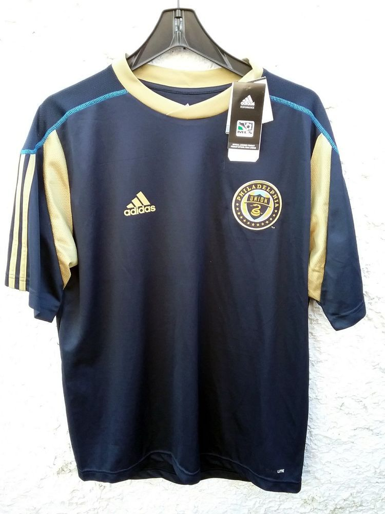 finest selection 7a356 68bfd Philadelphia Union adidas MLS Call Up Jersey NEW Large ...