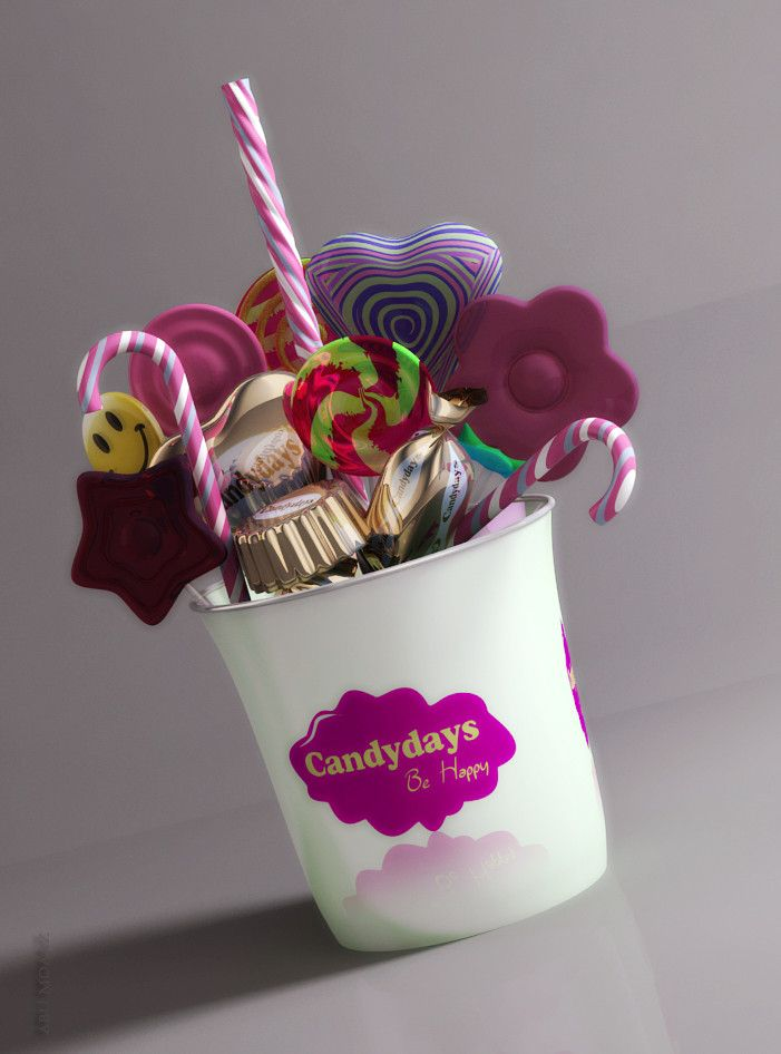 candy present confectionary 3d model   Confectionary, Confectionery, 3d model