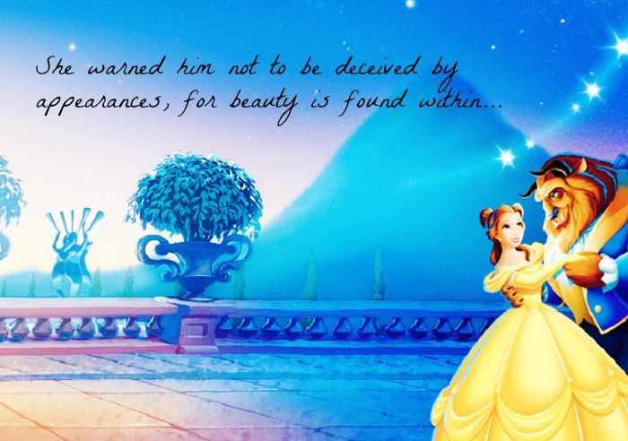 17 Disney Beauty And The Beast Quotes With Images Films Series