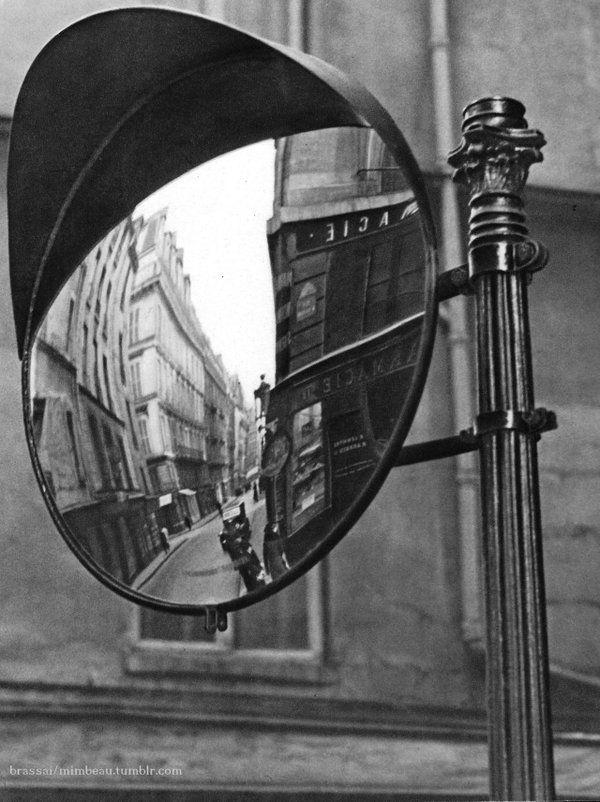 Brassaï  Street scene, Paris 1930s