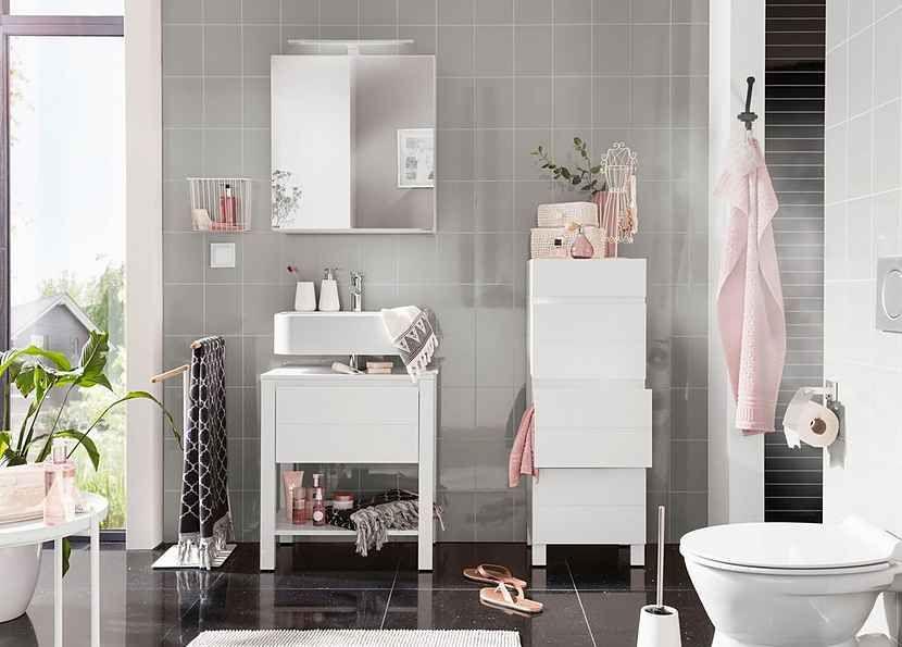 Home Affaire Waschbeckenunterschrank Kaika Breite 60 Cm Online Kaufen In 2020 Waschbeckenunterschrank Beauty Raum Schrank