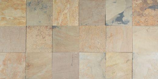 Back Porch Floor Tile Option Daltile Slate Autumn Mist 16 X16 S772