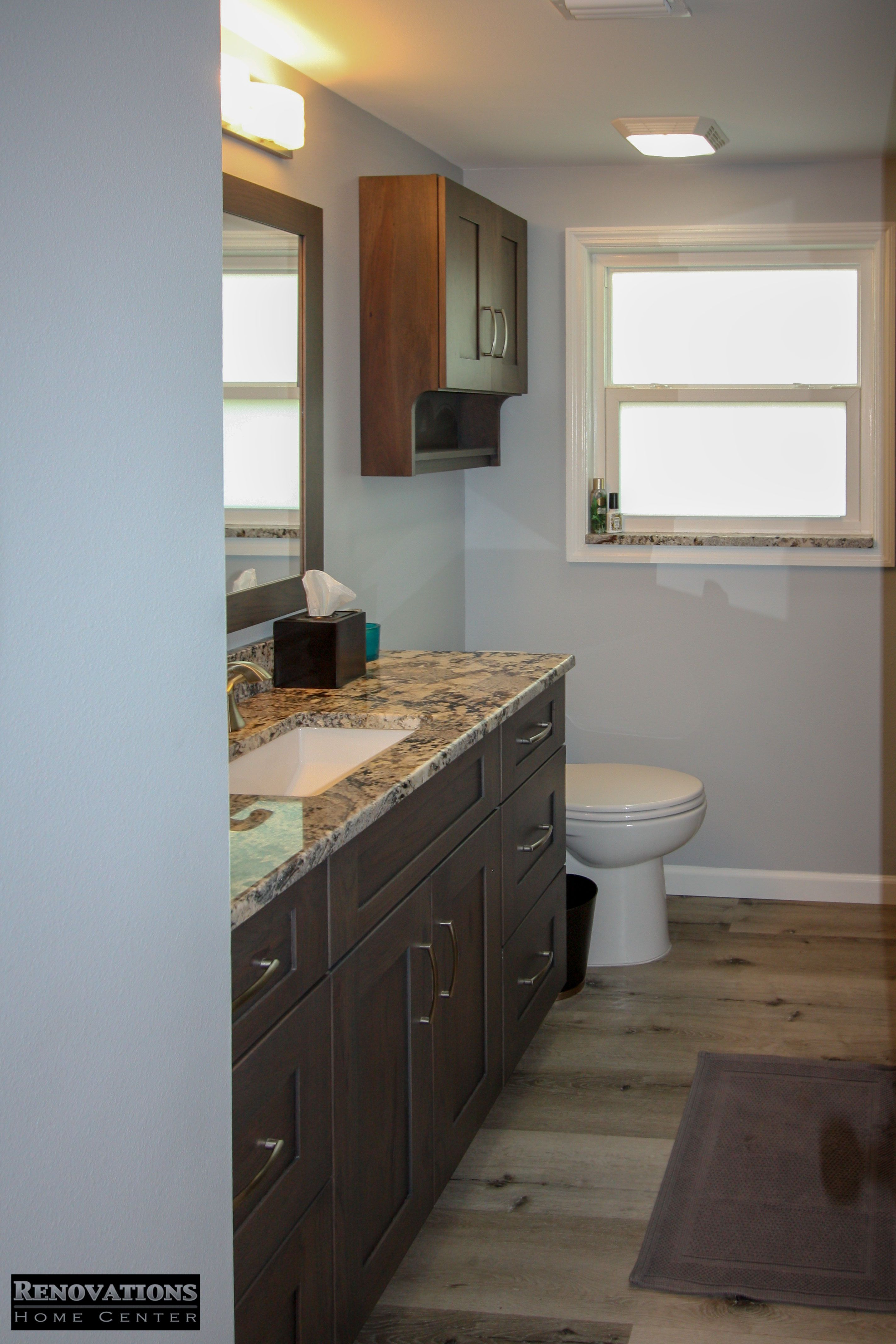 Master Bathroom Renovation For Our Client In Tarpon Springs Custom Vanity By Kitchen And Bath Remodeling Kitchen Bathroom Remodel Master Bathroom Renovation