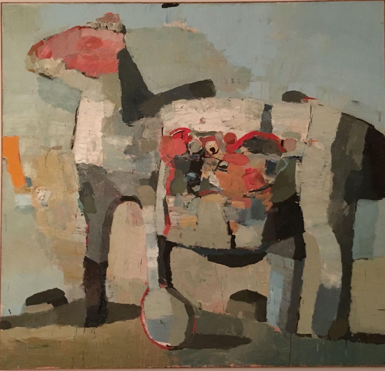 Jean-Pierre Ruel huile sur toile 2003 180X190