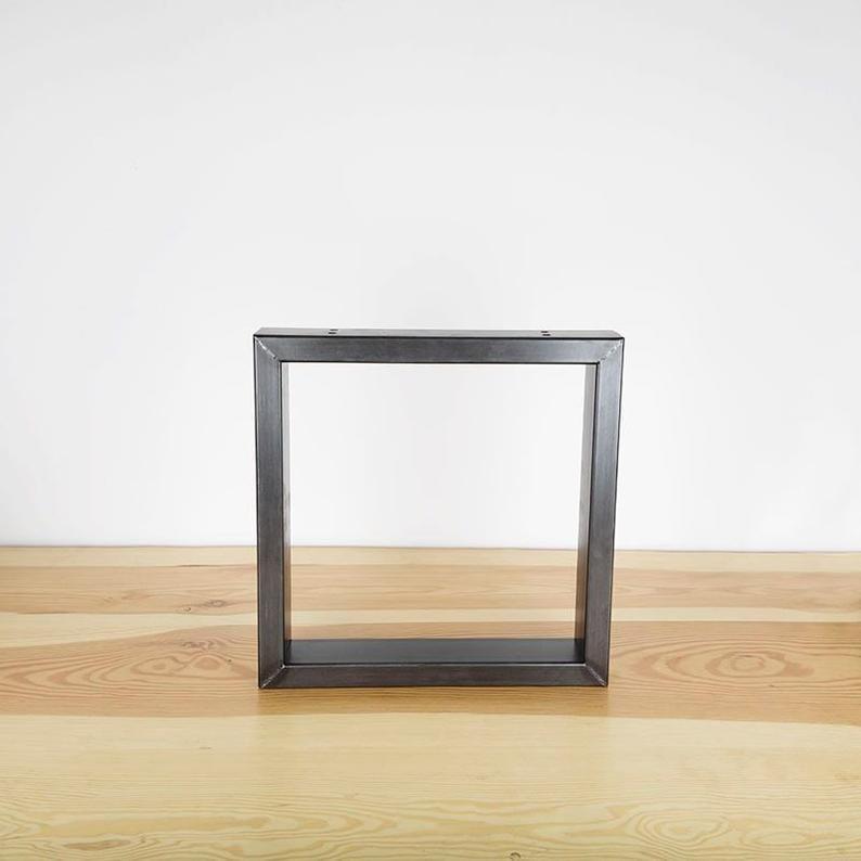Pied Pour Banc Et Table En Acier L Intrepide In 2020 Coffee Table Bench Steel Table Table