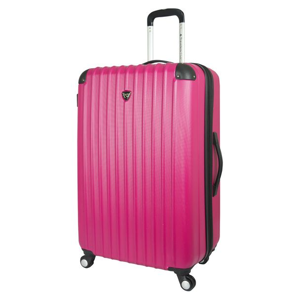 Travelers Club Chicago 28-inch Hardside Expandable Spinner Suitcase