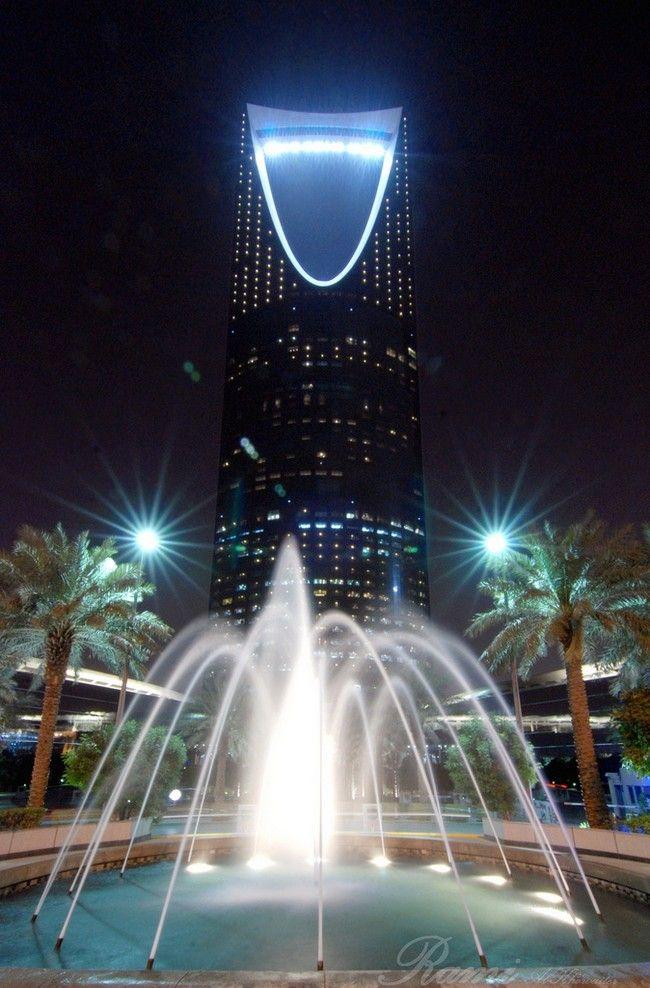 Burj Al Mamlaka Kingdom Centre In Riyadh Saudi Arabia Riyadh Riyadh Saudi Arabia Architecture Landmark
