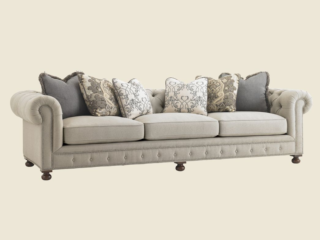 Courtrai Belfort Extended Sofa   Lexington Home Brands. A Long Sofa For The  Living Room