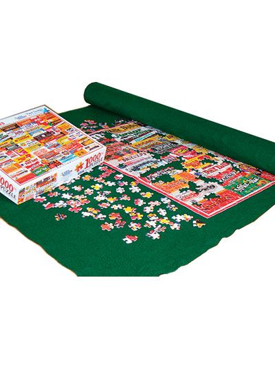 Puzzles provide great cognitive skill challenges during