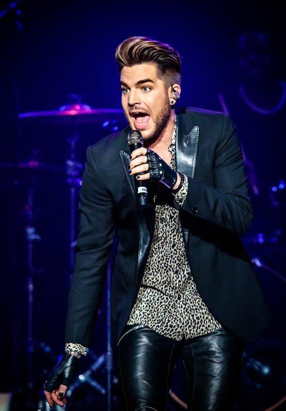 Adam Lambert performs at The Joint at Hard Rock Hotel & Casino
