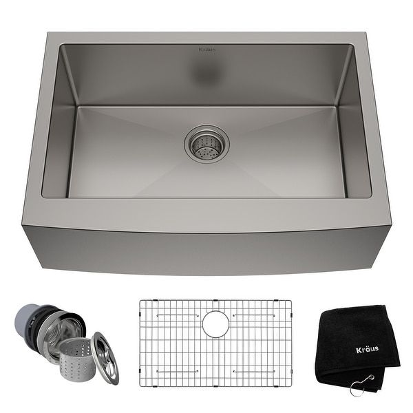 Overstock Com Online Shopping Bedding Furniture Electronics Jewelry Clothing More In 2021 Farmhouse Sink Kitchen Farmhouse Apron Kitchen Sinks Sink 30 stainless steel farmhouse sink