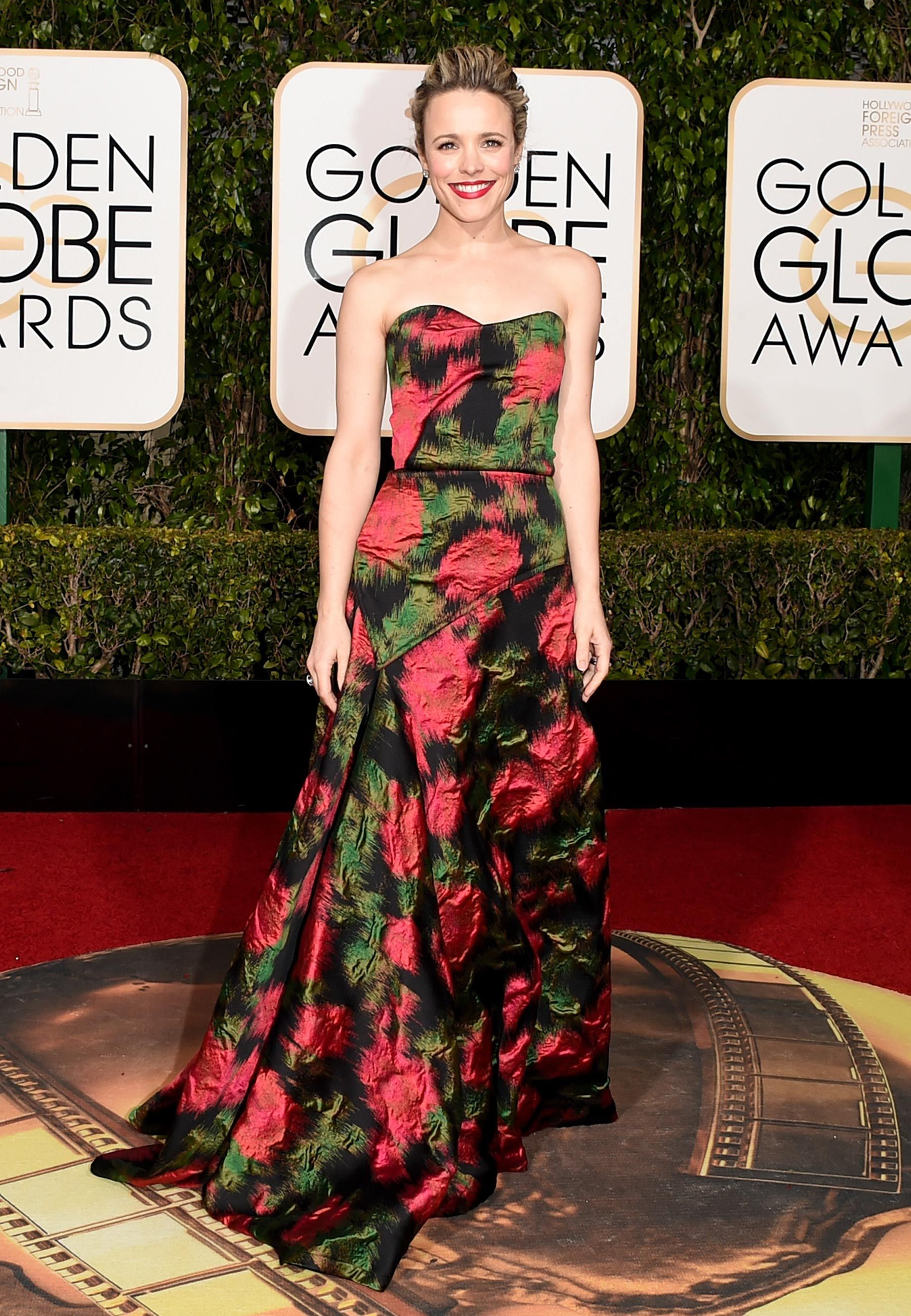 Vestidos do tapete vermelho do Golden Globe Awards 2016 | Vestidos ...