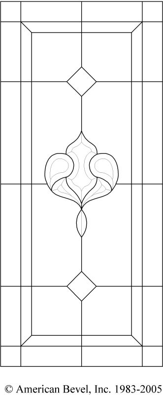 American Bevel Stained Glass Bevel Glass Clusters Stained Glass