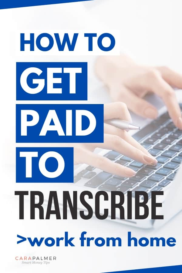 How To Become A Transcriptionist Earn 65 000 Per Year Working From Home Make Money From Home How To Become