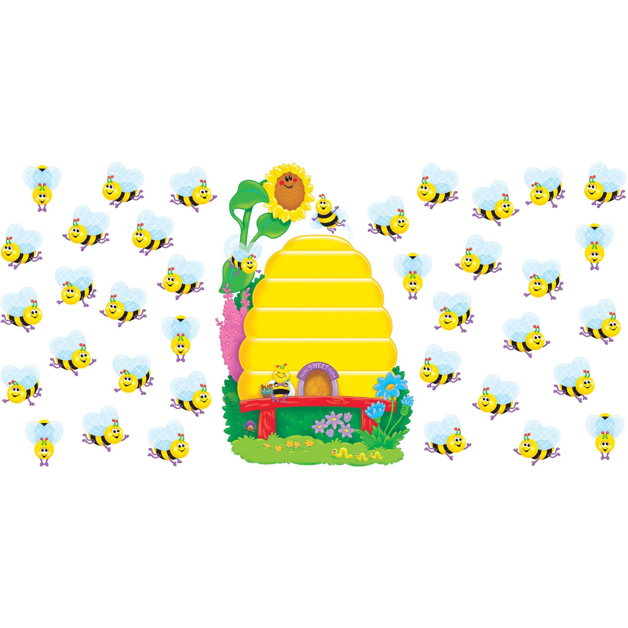 Busy Bees Job Chart Plus Bulletin Board Set
