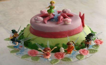 Tutoriel pour faire un gâteau d'anniversaire Spécial Fée Clochette