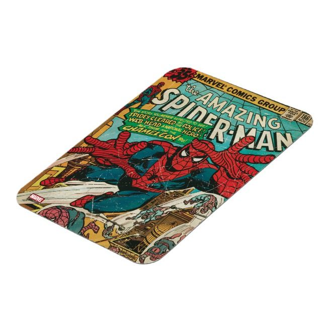 The Amazing SpiderMan Comic Magnet