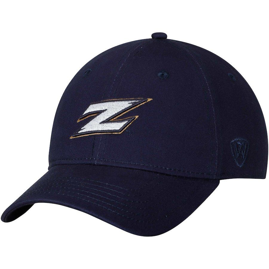 6efc9ac2d29d6 Akron Zips Top of the World Strike Unstructured Adjustable Hat - Navy