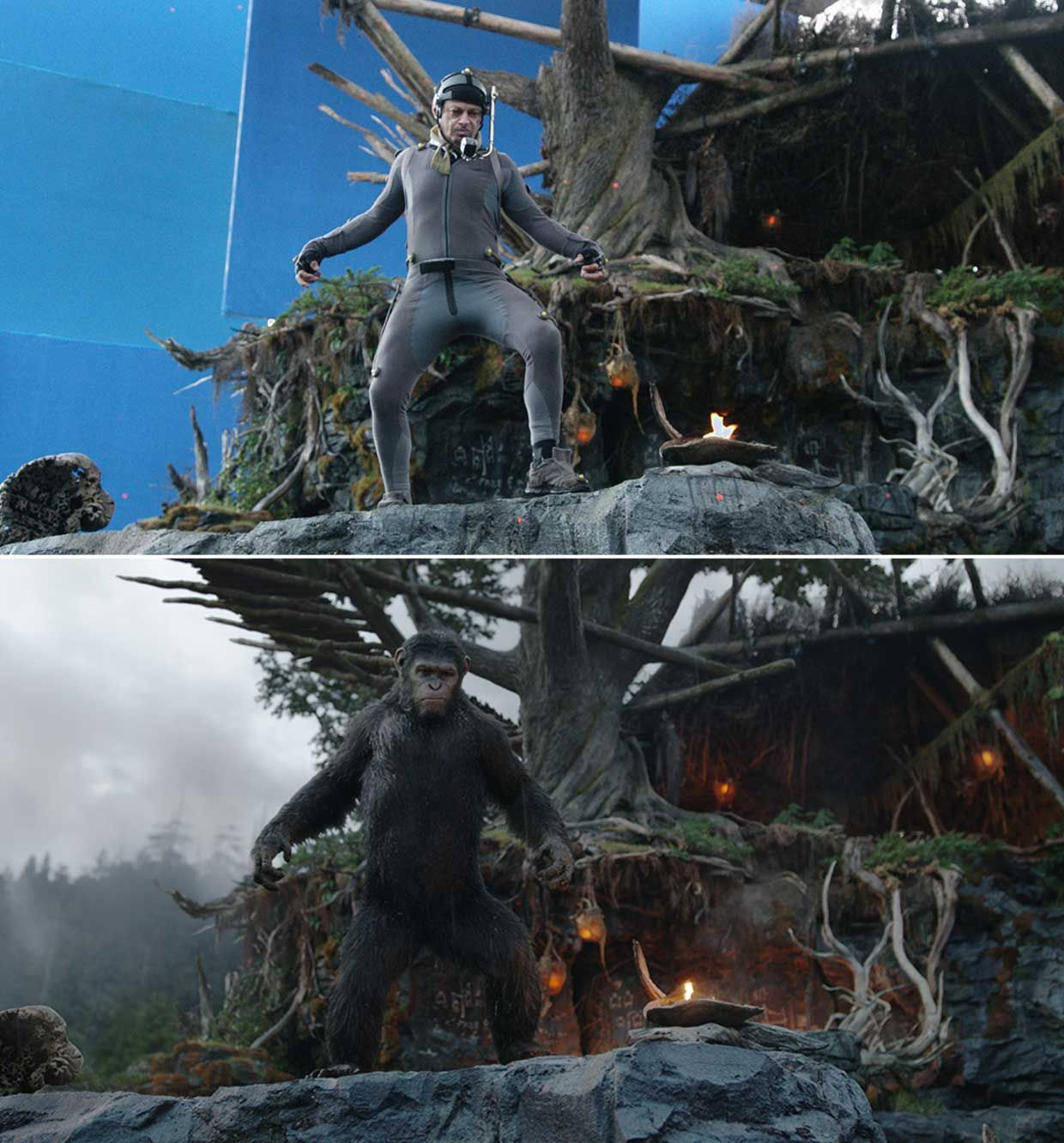 Weta Digital. Andy Serkis. Dawn of the Planet of the Apes. Epic.