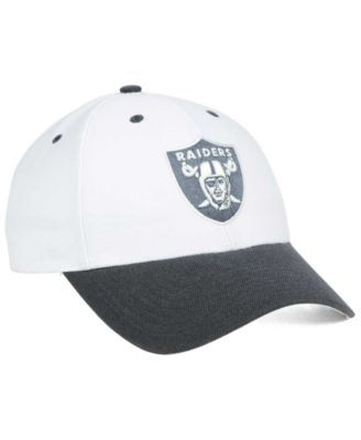 100% authentic e378b 40e25  47 Brand Oakland Raiders Audible 2-Tone Mvp Cap - White Adjustable