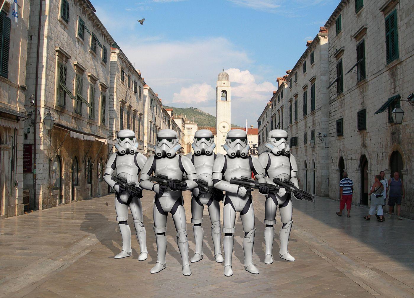 Stari Grad Old Town Star Wars Film Dubrovnik Filming Locations