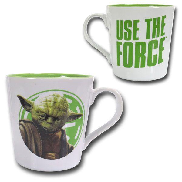 Star Wars Yoda Ceramic Mug