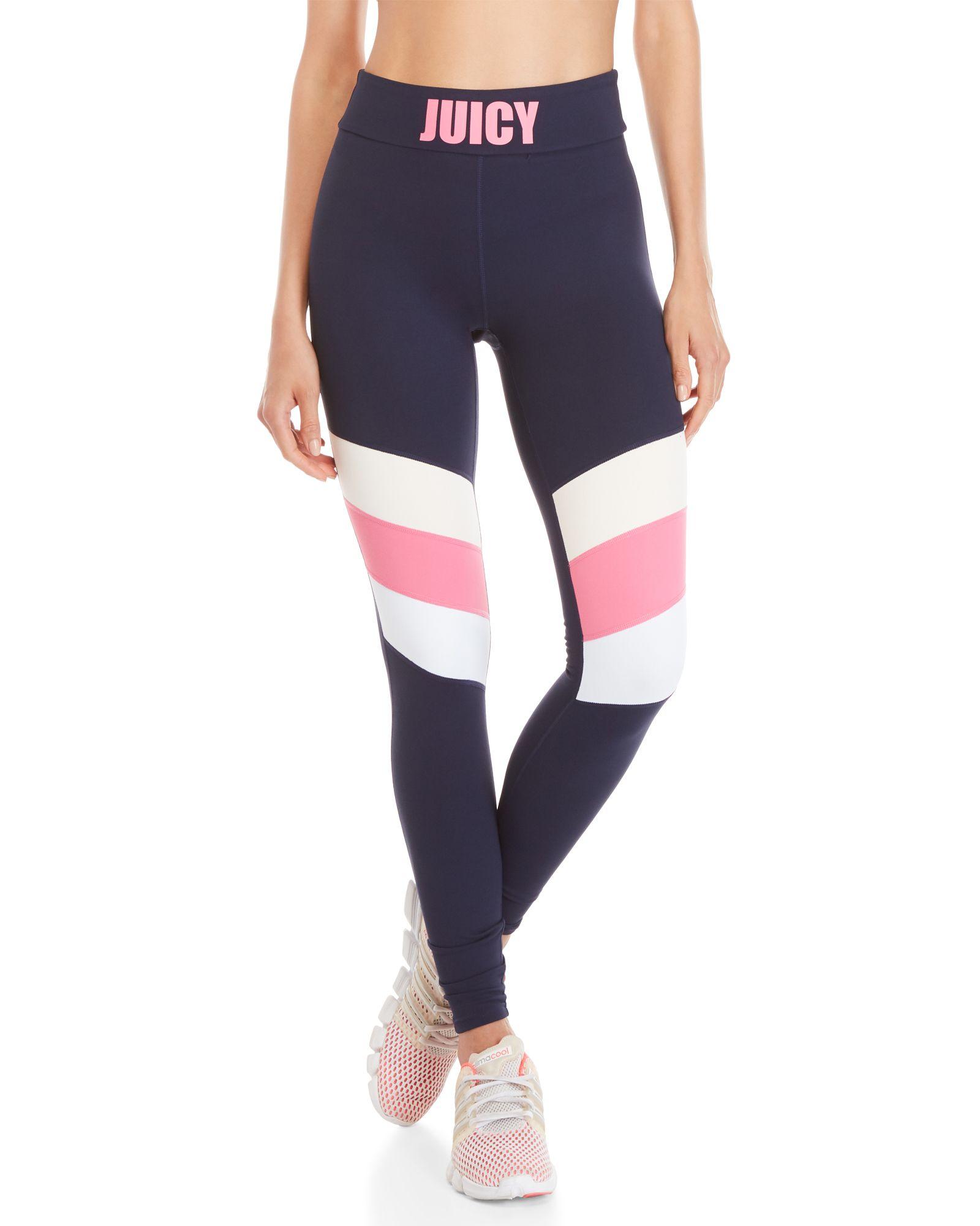 8335f47ae2 Juicy Couture Color Block Sport Leggings | *Apparel & Accessories ...