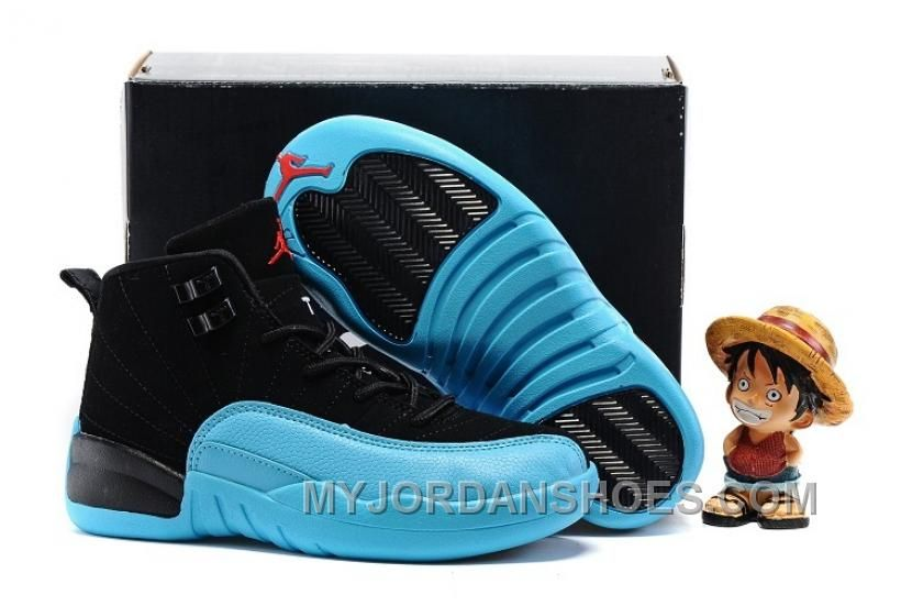 free shipping b2cbe 76162 AJ12 Kids Air Jordan 12 Gamma Blue 28---35 KF7B4 | Air ...
