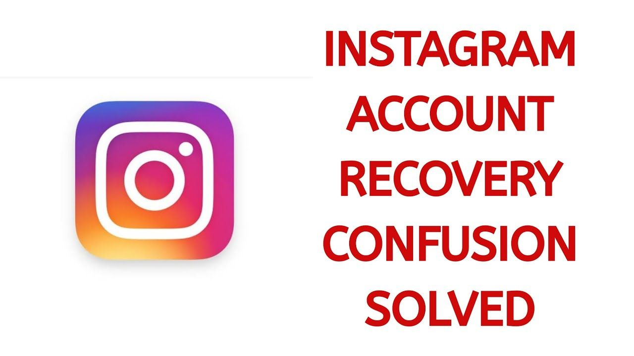 How To Recover Instagram Instagram Accounts Accounting Account Recovery