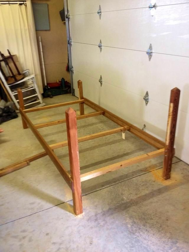 How To Make A Diy Wwe Wrestling Bed Under 100 Recipe Wrestling Ring Bed Old Bed Frames Diy Wwe