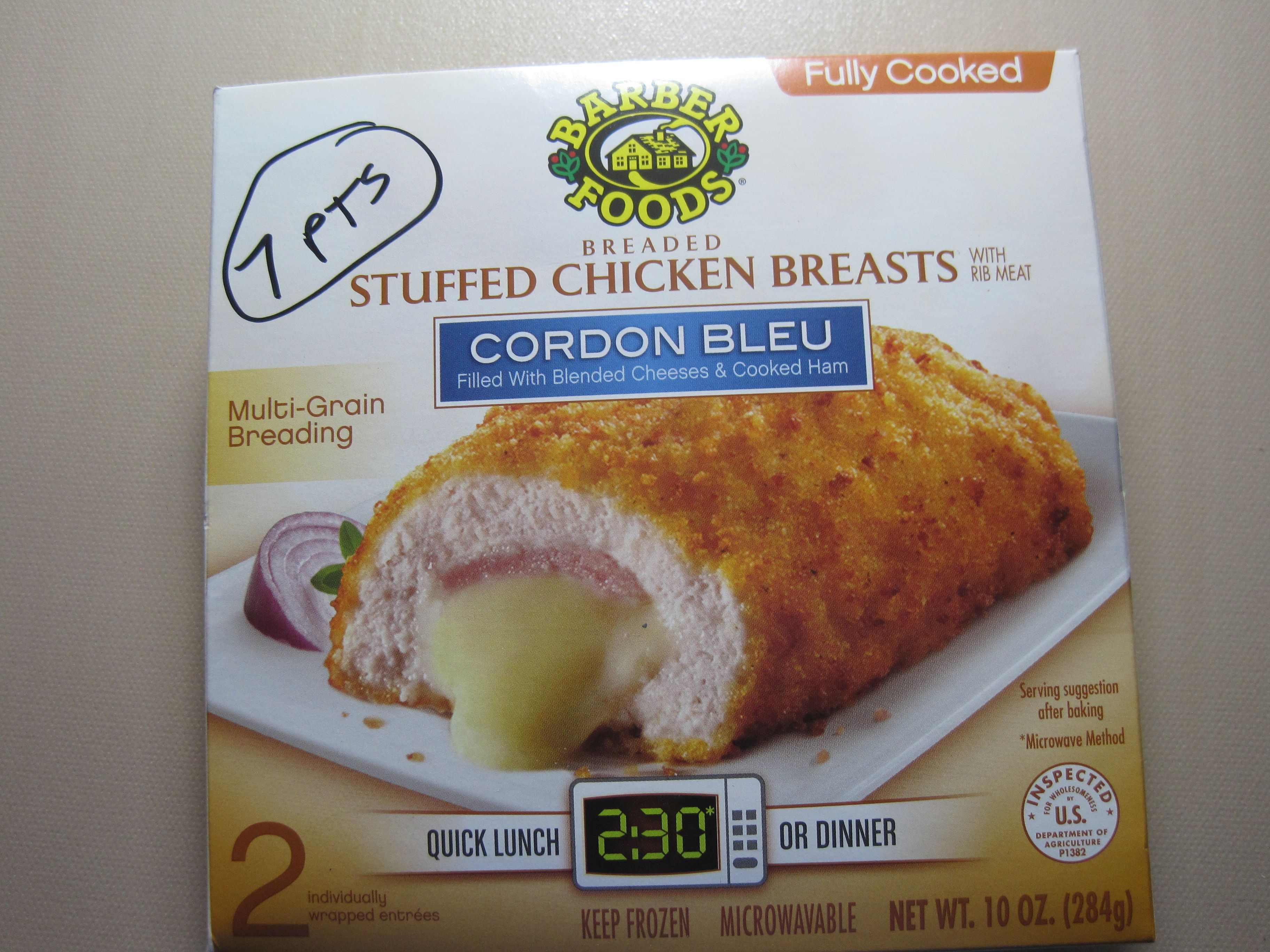 7 Pt Stuffed Chicken Breasts Walmart Freezer Section Recipes