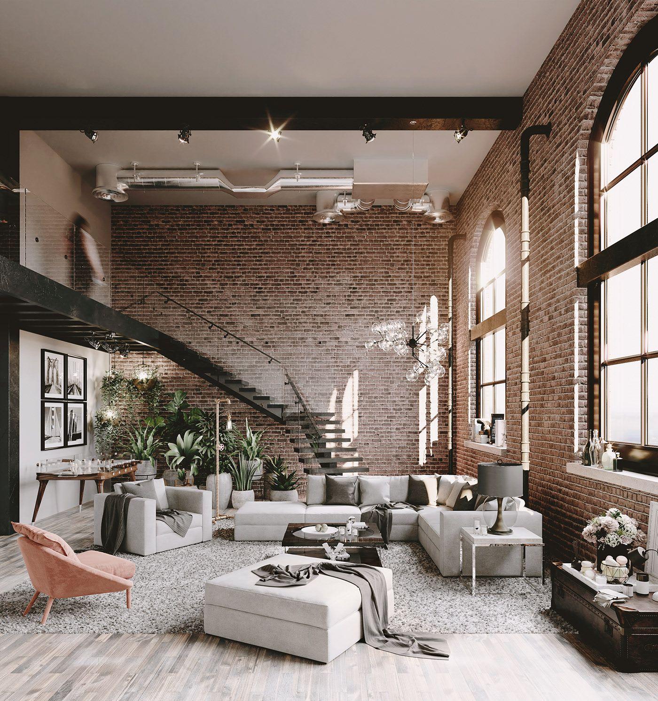 Ce loft aux magnifiques murs de briques est une réussite urbaine - PLANETE DECO a homes world