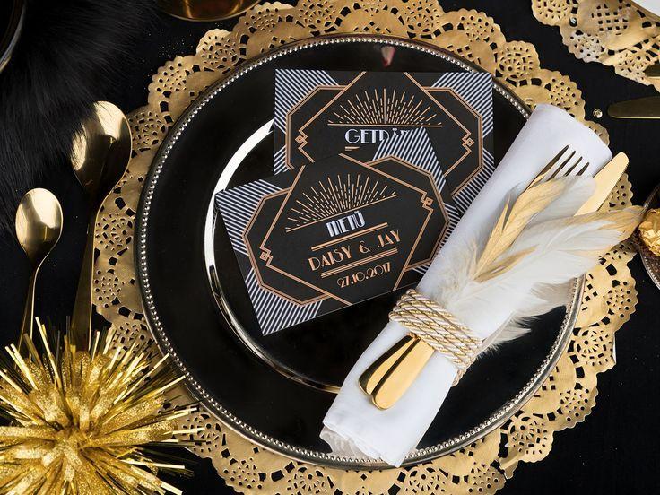 Die Gatsby-Hochzeit im Stil der 20er-Jahre – So gelingt's